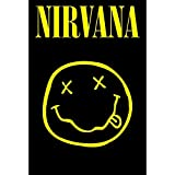Live Nation Nirvana 'Smiley' Maxi Poster, 61 x 91.5 cm