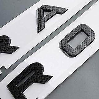 Genuino Range Rover autobiografía 2013 /> en Adelante Plateado y Negro Insignia Emblema