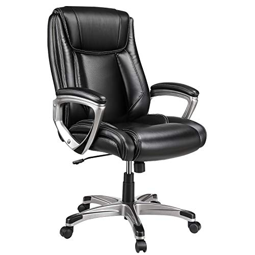 VANSPACE Executive Office Chair High Back EC01, Leather Executive Chair