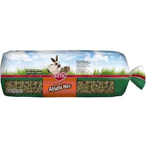 Kaytee Natural Alfalfa Hay Mini Bales High Fibre Food, 680 g