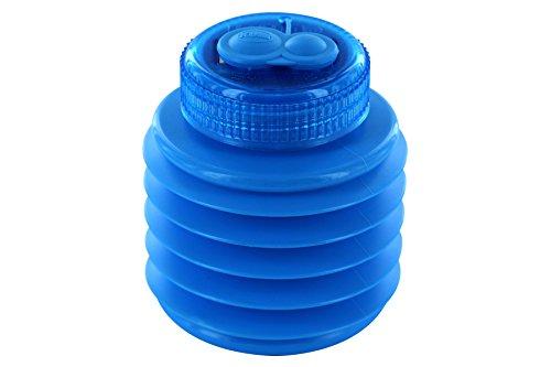 KUM AZ347.00.19-B - Doppel-Magnesiumspitzer Softie 442 M2 B, Behälter bruchsicher, blau, 1 Stück