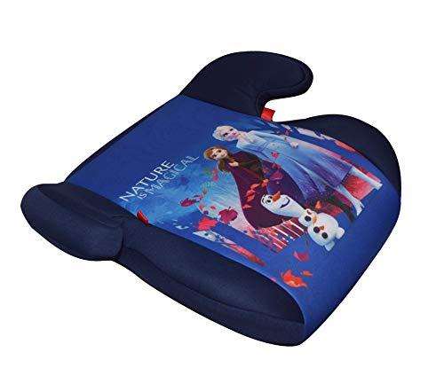 HiTS4KiDS EKKFZ080 Kindersitzerhöhung Disney Eiskönigin mit ISOFIX und GURTFIX, Auto-Sitzerhöhung, Kindersitz, 15-36 kg, circa 3-12 Jahre, Gruppe 2-3, ECE R44/04 geprüft, blau