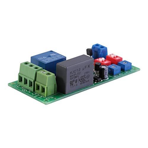 HEQIE-YONGP Módulo de relevo- Interruptor de 100V-250V On/Off Timer Módulo de relé Temporizador Ciclo de CA Relay Timer Switch Module Módulo de retardo Ajustable Infinito