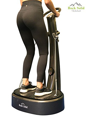 Rock Solid Whole Body Vibration Fitness Machine