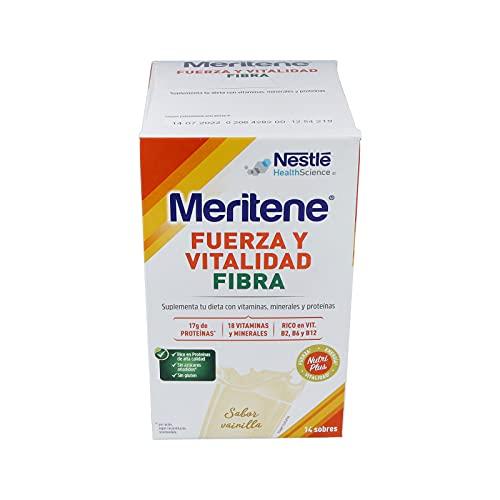MERITENE FIBRA Batido Vainilla -Estuche (14x35g)