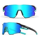 Sports Sunglasses for Men,Polarized Sunglasses for Women,Sports Sunglasses for Cycling Hiking...