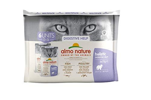 Almo Nature - Mochila multifunción Diaria para Gatos (6 x 70 g)
