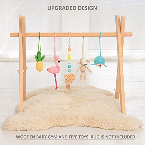 Tropical Baby Play Gym Mat