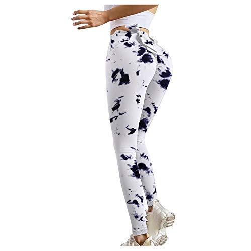Leggings de fitness Strethcy para mujer, con estampado a todo color, para gimnasio, ciclismo, yoga, correr, ocio diario