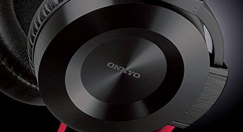 ONKYOオーバーヘッドタイプヘッドホンブラック/レッドES-FC300(R)