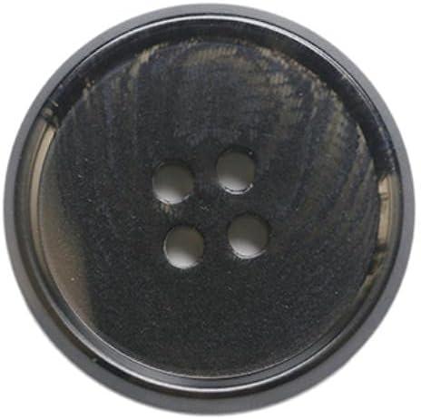 6pcs Men and Women Pattern Four-Eye high-end Suit Suit Pants Button Coat Trench Coat Coat Woolen Buttons