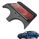 Paobiy Convient pour BMW Série 6 2018 2019 Chargeur de voiture sans fil pour console centrale,...