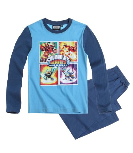Skylanders Pijama Azul Azul 4 años