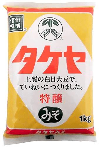 タケヤ 特醸 みそ 1kg ピロー袋 1ケース(10個入)