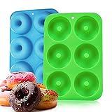 Best Donut Pans - Non-Stick Silicone 6 Donut Baking Pans Heat Resistant Review