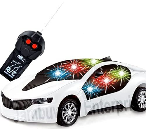 Jambuwala Enterprise® Remote Controlled car, 2 Function Remote Control Car, Racing Car, Sports Car, New Model RC Car, Remote car for Kids Boys & Girls (Multi Color & Multi Design)