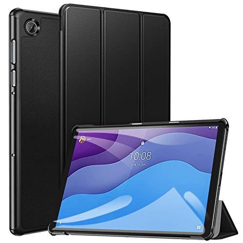 ZtotopCase Custodia per Lenovo Tab M10 HD (2nd Gen) TB-X306X   TB-X306F, Cover Protettiva Pratica Ultrasottile Elegante per Lenovo Tab M10 10.1  HD 2020, Nero