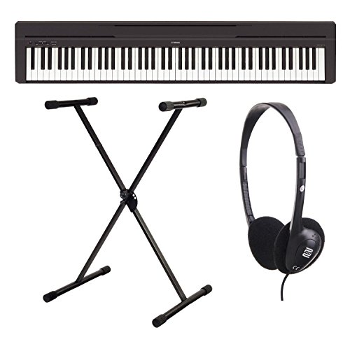 Yamaha P-45B - Piano digital / Set de piano de escenarios con...