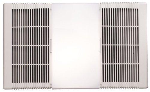 NuTone 665RP Heat-A-Ventlite Exhaust Fan with 1300-Watt Heater and 100-Watt Incandescent Light, 70...