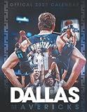 """Dallas Mavericks 2022 Calendar: Basketball Calendar 2022 desk planner, SPORT Calendar 2022-2023 – 18 months – BIG SIZE 17""""x11"""". Planner for all fans kids boys"""