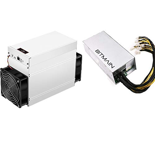 Antminer S9E 14T Bitcoin Miner 1160W ASIC Miner Include APW7 1800W PSU and Power Cords Bitcoin Mining