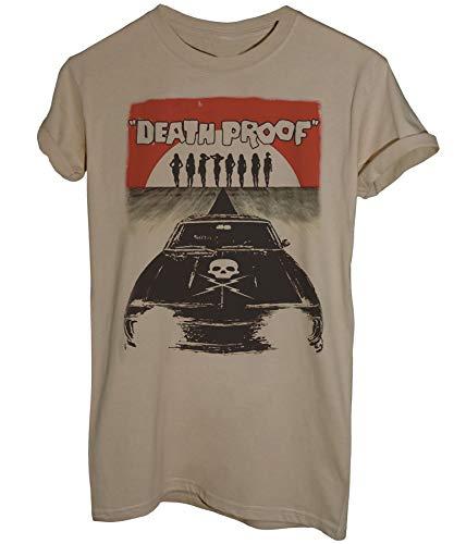 iMage T-Shirt Death Proof A Prova di Morte Tarantino - Film - Uomo-XL-Sabbia