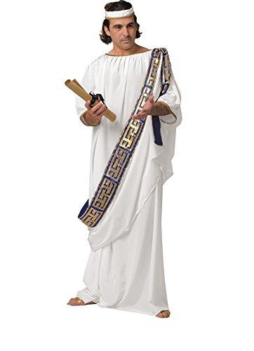 Unbekannt Römische Toga Kostüm Römer Grieche Antike Kostüm Griechische Toga Griechin Römerin