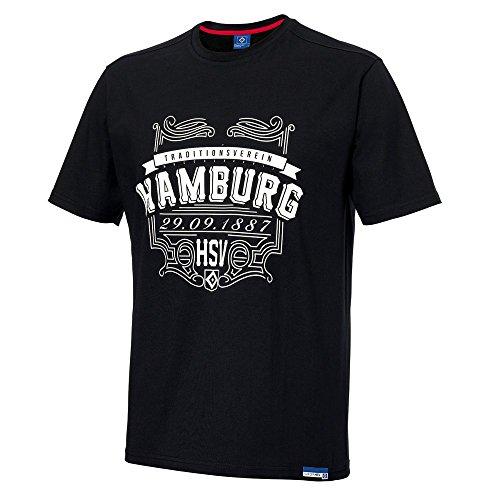 """Herren T-Shirt """"Gründung"""" Hamburger SV HSV Gr S"""