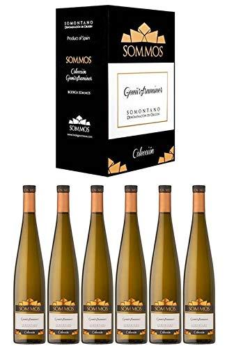 Caja de 6 botellas de Sommos Colección Gewürztraminer