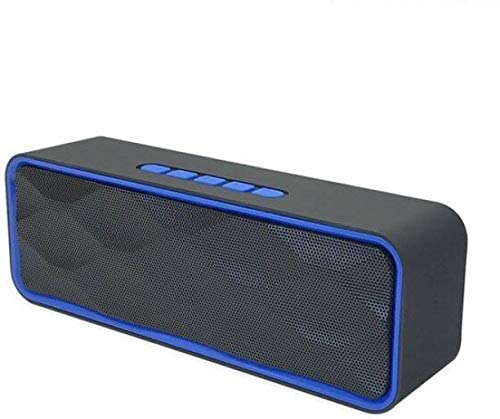 Praxan WTG113 Portable & Waterproof Wireless Bluetooth Speaker with Best Sound Quality Playing with Mobile | Tablet | Laptop | AUX | Memory Card | Pen Drive | FM & Much More (Random Color)