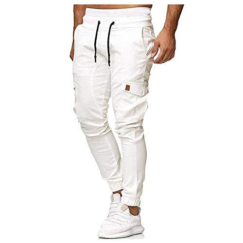 NUSGEAR 2021 Nuevo Pantalones Hombre Pantalones Casuales Moda Deportivos Running Pants Jogging Pantalon Gym Fitness Slim Fit Pantalones Largos Pantalones Ropa de Hombre Pantalones de Trekking