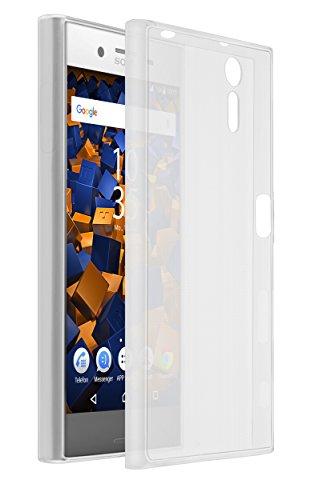 mumbi Hülle kompatibel mit Sony Xperia XZ / XZs Handy Hülle Handyhülle dünn, transparent