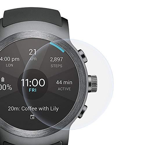 zanasta Schutzfolie kompatibel mit LG Watch Sport Bildschirmschutzfolie Nano Schutz Folie   Volle Abdeckung, Klar Transparent