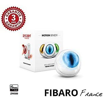 FIBARO Motion Sensor - Détecteur de Mouvement Multifonctions Z-Wave+ FF FGMS-001