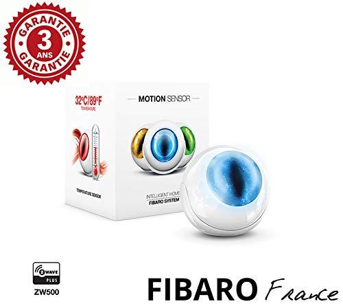 Fibaro Motion Sensor-Detector de Movimiento multifunción Z-Wave + FF fgms-001