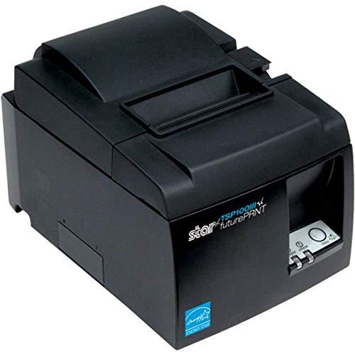 Star Micronics TSP100 Series, Thermal Receipt Printer, Gray, USB, USB Cable, Internal Power Supply