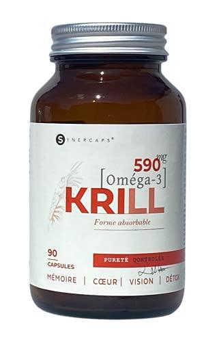 SYNERCAPS® Oméga-3 Huile de Krill Super Pure |...