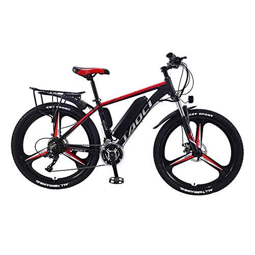 Hyuhome Elektrische Fahrräder für Erwachsene, Magnesium-Legierung Ebikes Fahrräder All Terrain, 26