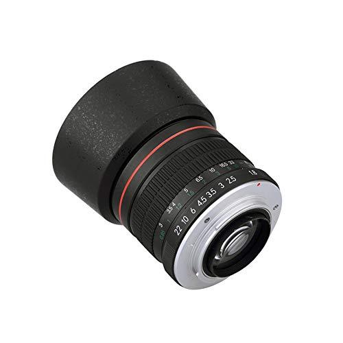 Lightdow 85mm F1.8 Medium Telephoto Manual Focus Full Frame Portrait Lens for Nikon D7500 D7200 D5600 D5500 D5300 D5200 D5100 D3500 D3400 D3300 D3200 D850 D810 D800 D750 D610 D500 D60 D6 D5 D4 etc