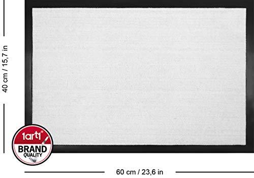 1art1 Dachshund - Signore Perro Salchicha, Buongiorno, Ciao Felpudo Alfombra (60 x 40cm)