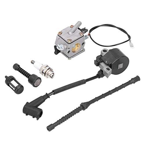 Carburador, accesorios completos de alta confiabilidad Durable y conveniente Carburador de motosierra, para motosierra STIHL MS381 MS038 MS380 Limpieza de motosierra STIHL Garden