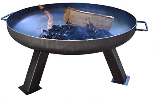 TAOTAO Chicago Heavy Duty Steel 2mm Thickness Firepit 80cm,with a FREE multifunction tool.