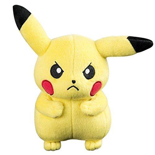 Peluche Pokémon : Pikachu en colère
