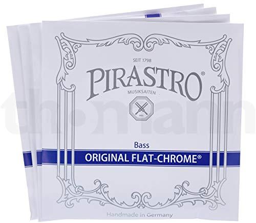 Pirastro / Original Flat-Chromesteel コントラバス弦セット