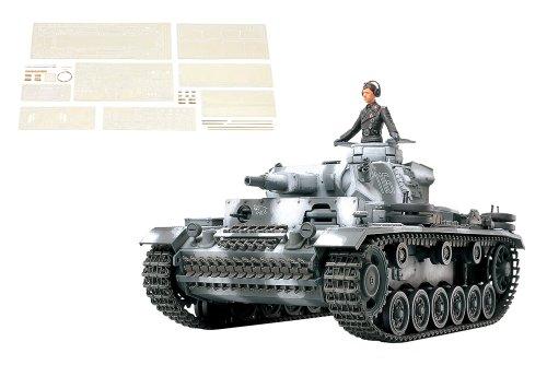 1/35 スケール限定 ドイツIII号戦車 N型 (アベール社製エッチングパーツ/金属砲身付き) 25159