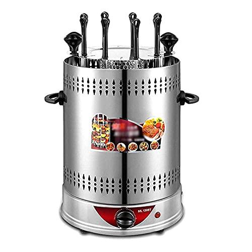 Horno asador Vertical,Parrilla eléctrica multifunción,Horno Giratorio sin Humo,Barbacoa para Uso doméstico,Horno Tostador infrarrojo