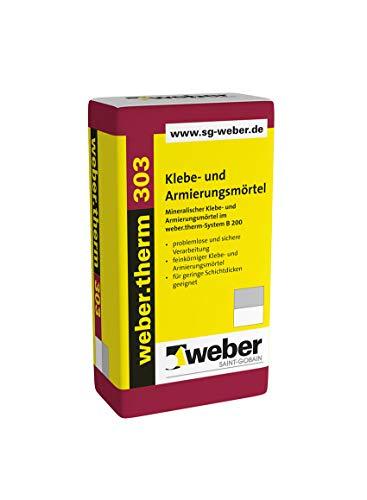 Weber.therm 303 Klebe- und Armierungsmörtel Klebemörtel Armierungsmörtel Armierungskleber Fassadenkleber Dämmstoffkleber