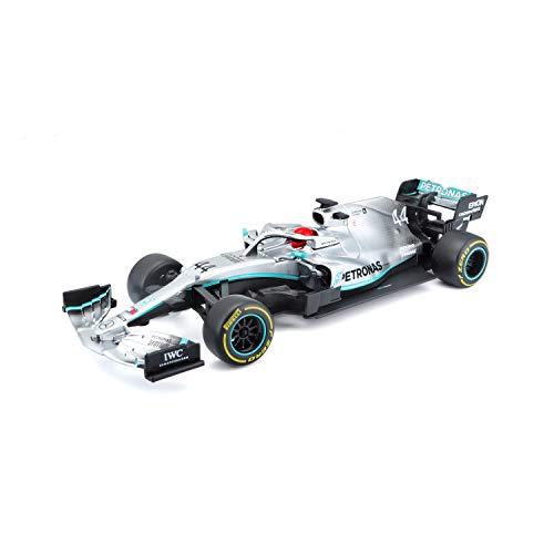 Maisto Tech R/C F1 Mercedes AMG Petronas W10 (2019): Coche teledirigido Lewis Hamilton en...