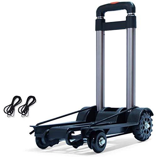 Carritos De Mano Carro Plegable Portátil Carro Plegable con Gran Capacidad De Carga para Soportar Carros De Compras De Equipaje,A