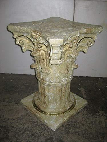 Kunibert Columna de flores decorativa, pedestal, altura de 72 cm, ancho de...